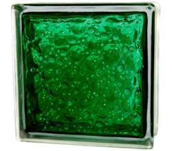 Стеклоблок  Капля зеленый