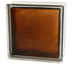 Стеклоблок бронзовый Волна