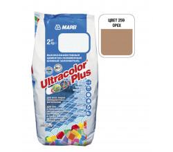 Затирка Mapei Ultracolor Plus 259 орех 2 кг