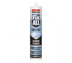 Клей-герметик Fix All Crystal прозрачный (бесцветный) 290 мл