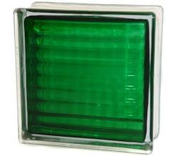 Стеклоблок  Сетка зеленый